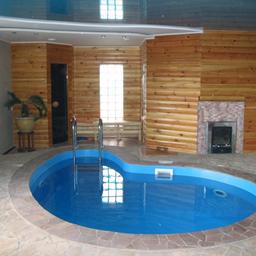 Баня своими руками проекты фото с бассейном